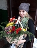 """Корзина """"Накануне праздника!"""""""