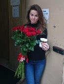 25 red roses + Nutella