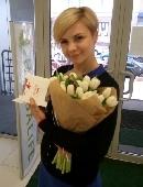 21 white tulip