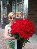 Гігантський букет троянд