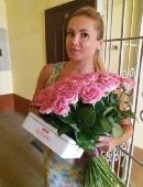 Роза розовая (поштучно)
