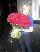 151 червона троянда