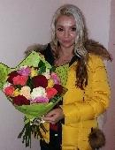 "Букет роз ""Карнавал любви"""
