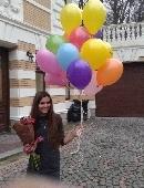 Гелиевые шарики (поштучно)