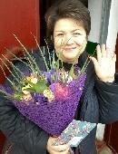 """Romantic bouquet """"Purple Haze"""""""