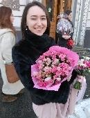 """Romantic bouquet """"Queen"""""""