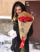 Червона троянда (поштучно)