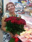51 червона троянда
