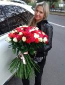 101 різнокольорова троянда