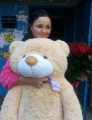 Giant Teddy Bear (beige)