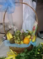 Корзина фруктів