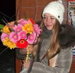 Bright bouquet of Gerbera