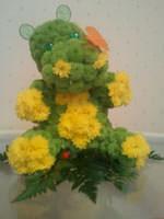 Бегемот з квітів