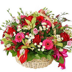 "Flower Basket ""Luxury"""