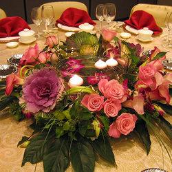 """Композиція на стіл """"Святкова вечеря"""""""