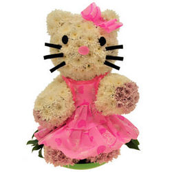"Design of flowers ""Hello Kitty"""