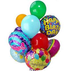 Мікс з 9 гелієвих кульок