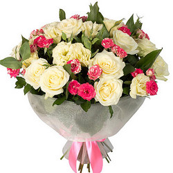"Bouquet ""Vanilla Sky"""