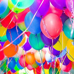 Гелієві кульки (поштучно)