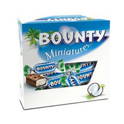 "Candies ""Bounty - miniatures"""