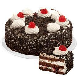 "Cake ""Cherry Present"""