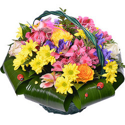 "Basket ""Spring Love"""