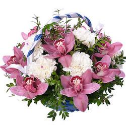 "Корзина ""Оранжерея орхидей"""