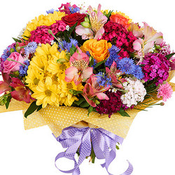 "Bright bouquet ""Hawaiian Flowers"""