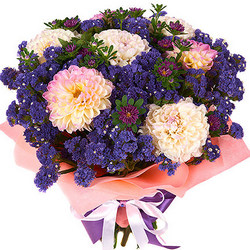 "Bouquet ""Romantic Blues"""