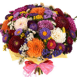 "Bright bouquet ""Sunny October"""