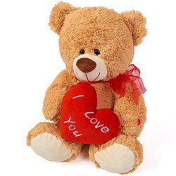 Милий ведмедик (з серцем)
