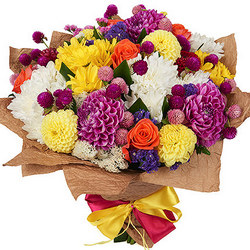 "Bright bouquet ""Please your beloved"""