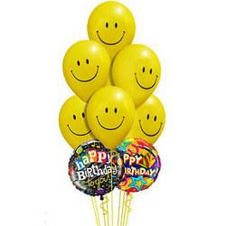 """Mix of smiles """"Happy Birthday"""""""