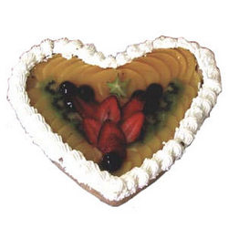 "Cake ""Fruit Heart"""