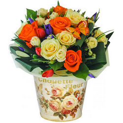 "Bouquet in a pot ""Versailles"""