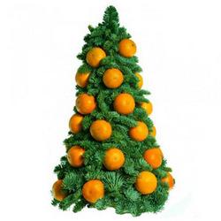 "Christmas tree ""Christmas mandarin"""
