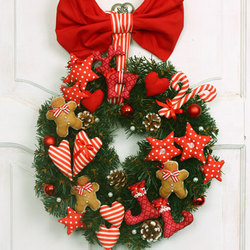 "Christmas Wreath ""Family Happiness"""