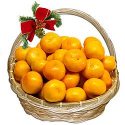 """Кошик фруктів """"Солодкі мандаринки"""""""