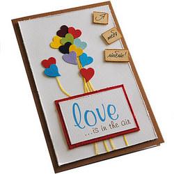 """Открытка """"Love..."""""""
