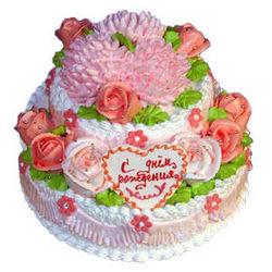 Торт на День народження