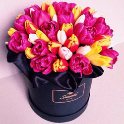 "Flowers in a box ""Chic"""