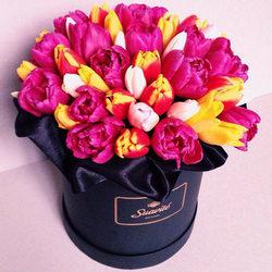 """Цветы в коробке """"Шик"""""""