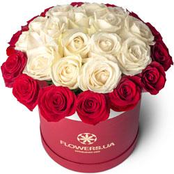 """Цветы в коробке """"Престиж"""""""