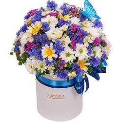 """Квіти в коробці """"Симпотяжка"""""""