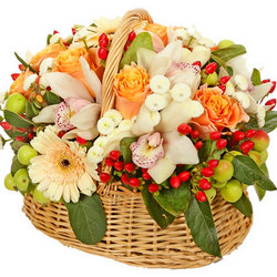 "Basket ""Wonderfull Garden"""