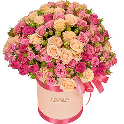"""Квіти в коробці """"Для моєї милої!"""""""