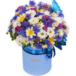 """Цветы в коробке """"Симпатяжка!"""""""