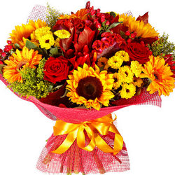 "Autumn bouquet ""Luxury"""