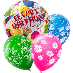 "Mix helium balloos ""Congratulations!"""