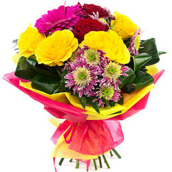 "Bright bouquet ""Lovers Island"""